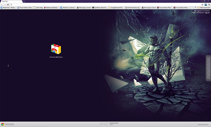 Neptune - Google Chrome Themes