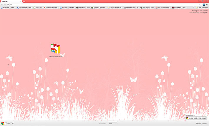 Meadows - Google Chrome Themes